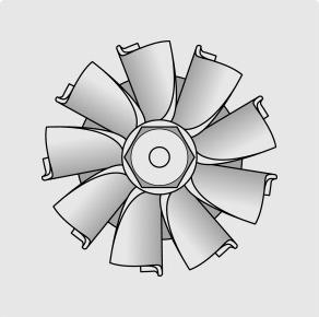 Turbine Compresseur neuve Steler - 2.0 TD4 110cv, 2.0 TD 136cv 115cv 132136cv, 1.9 TDI 110cv 90110cv 90cv 110115cv 90110115cv 100cv 116cv 110115116cv 115cv 100101cv